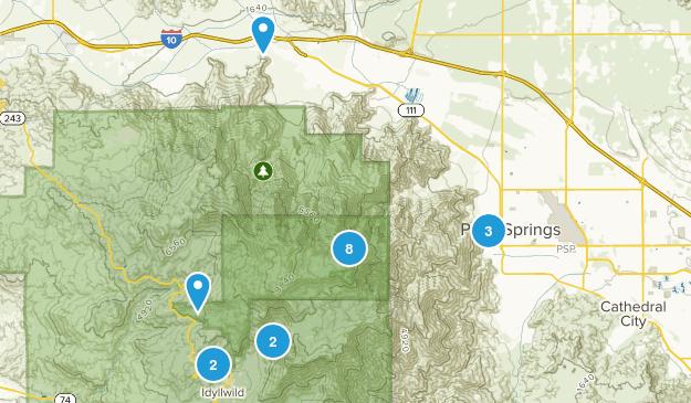Mount San Jacinto State Park Wildlife Map