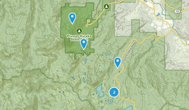 Plumas-Eureka State Park Nature Trips Map
