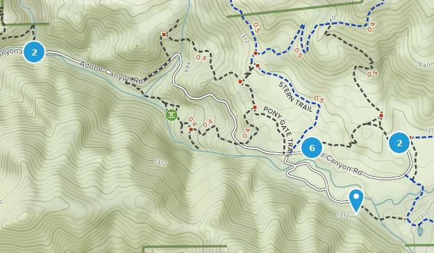 Sugarloaf Ridge State Park Nature Trips Map
