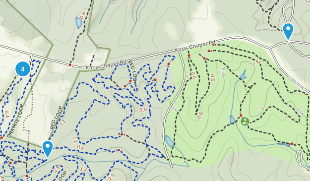 Hard Labor Creek State Park Hiking Map