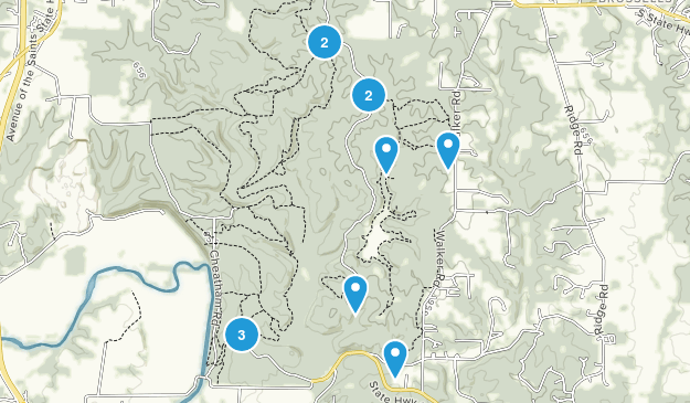 Cuivre River State Park Nature Trips Map