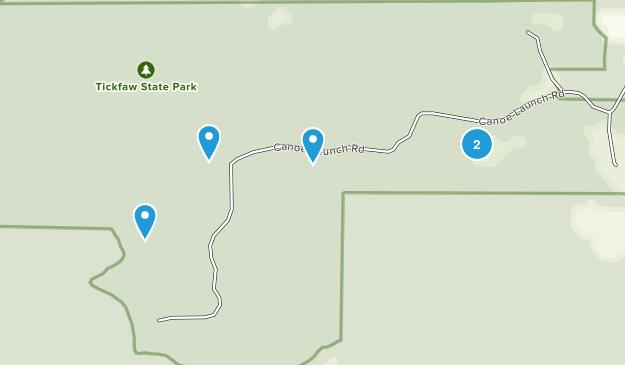 Tickfaw State Park Birding Map