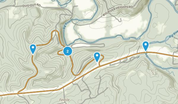 Washington State Park River Map