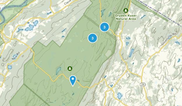 Parc d'État High Point Bird Watching Map