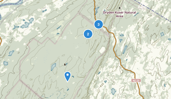High Point State Park Nature Trips Map