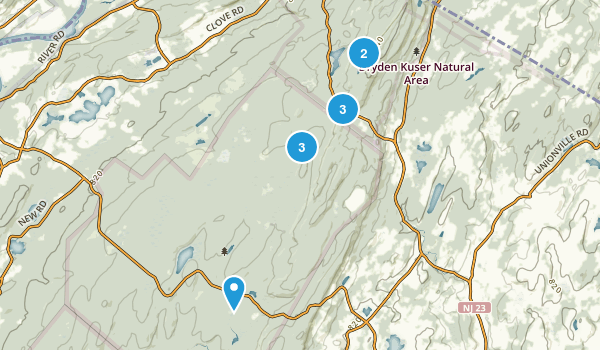 High Point State Park Walking Map