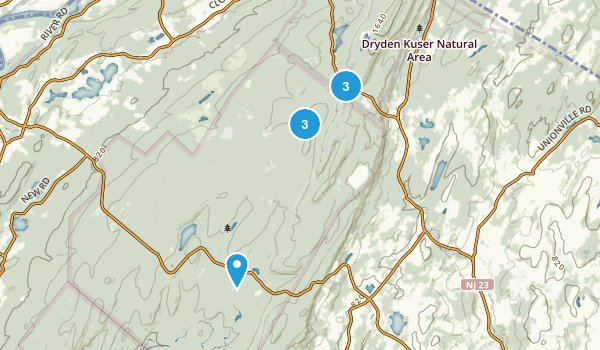 High Point State Park Wild Flowers Map