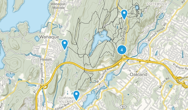 Ramapo Mountain State Forest Birding Map