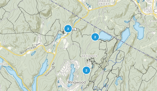 Ringwood State Park Hiking Map