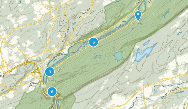 Worthington State Forest Nature Trips Map