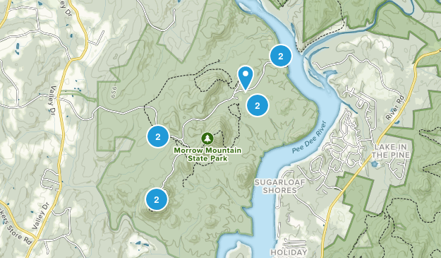 Morrow Mountain State Park Birding Map