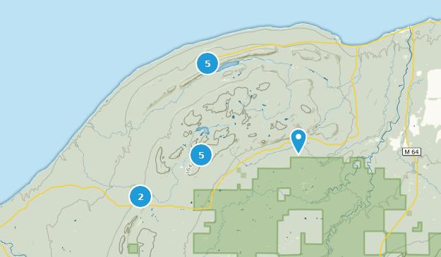 Best Wildlife Trails in Porcupine Mountains Wilderness State ...