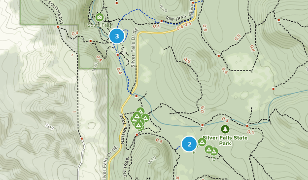 Silver Falls State Park Oregon Map.Best Wild Flowers Trails In Silver Falls State Park Alltrails