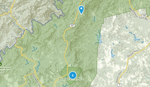 Oconee State Park Camping Map