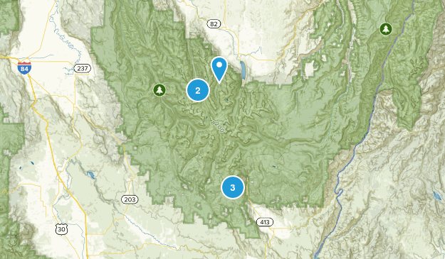 Wallowa Lake State Park Nature Trips Map