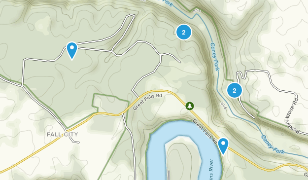 Rock Island State Park Hiking Map