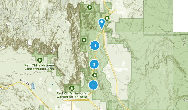 Snow Canyon State Park Kid Friendly Map