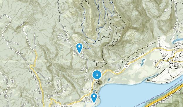 Beacon Rock State Park Birding Map