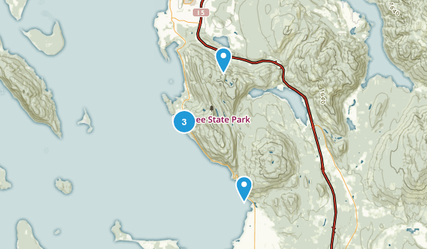 Best Forest Trails In Larrabee State Park Alltrails