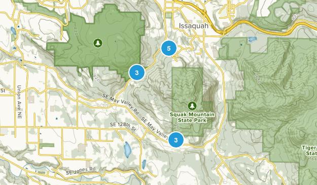 Squak Mountain State Park Birding Map