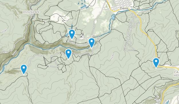 Blackwater Falls State Park Walking Map