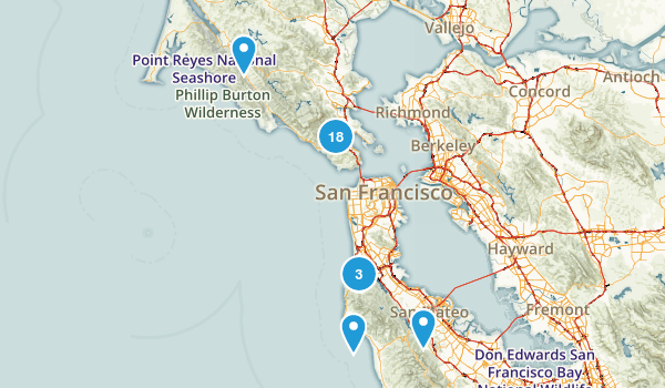 Golden Gate National Recreation Area Wildlife Map