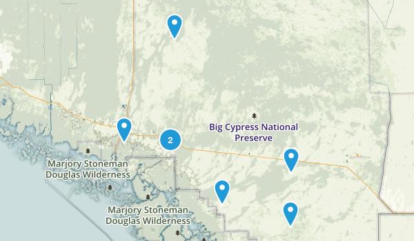Big Cypress National Preserve Birding Map