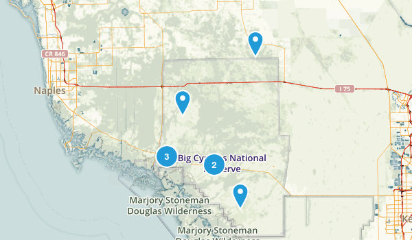 Big Cypress National Preserve Kid Friendly Map