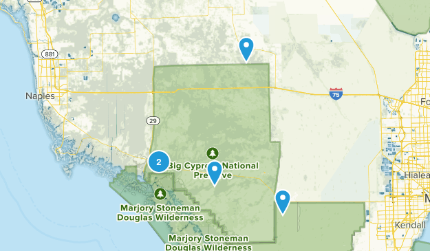Driving Map Of Florida.Best Scenic Driving Trails In Big Cypress National Preserve Florida