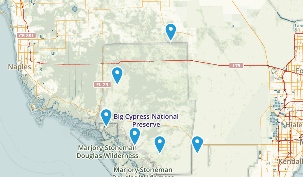 Big Cypress National Preserve Views Map