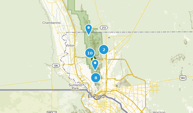 Franklin Mountains State Park Wildlife Map