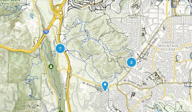 William F Hayden Green Mountain Park Wildlife Map