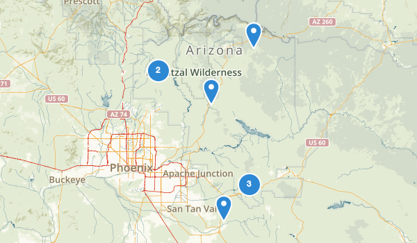 Best Off Road Driving Trails in Tonto National Forest – Us Driving Map