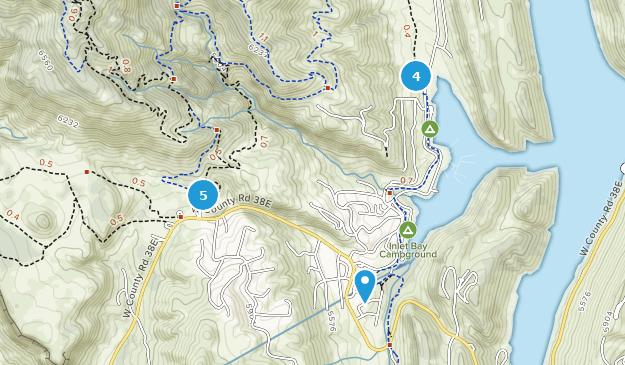 Horsetooth Mountain Park Nature Trips Map