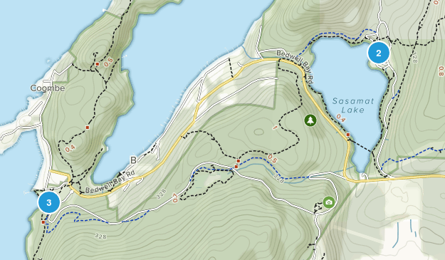 Belcarra Regional Park Hiking Map