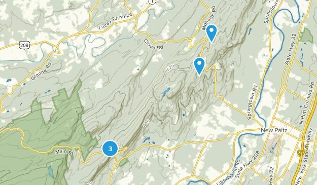 Mohonk Preserve Mountain Biking Map