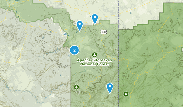 Best River Trails in Apache Sitgreaves National Forest ...