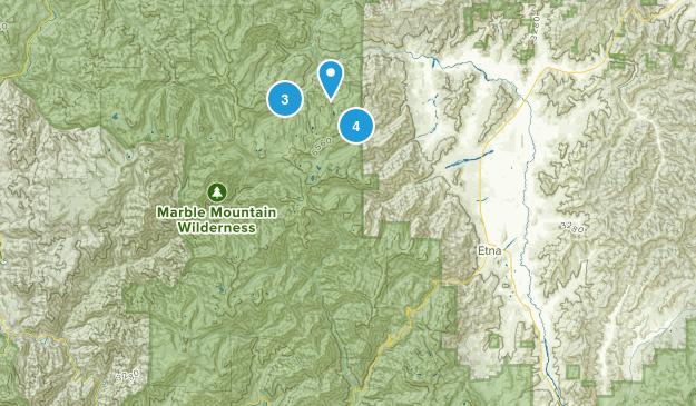 Marble Mountain Wilderness Birding Map