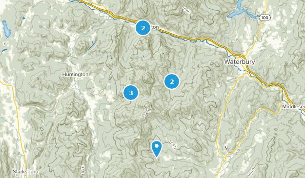 Parc d'État Chameaux Hump Nature Trips Map