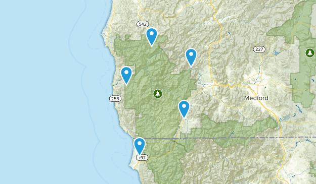 Siskiyou National Forest Birding Map