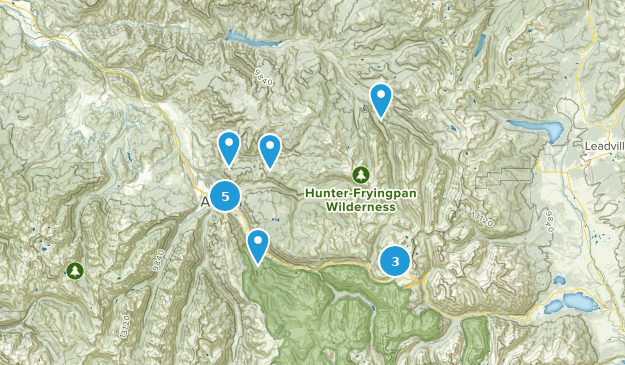 Best River Trails in Hunter Fryingpan Wilderness | AllTrails on map of rio grande river colorado, map of south platte river colorado, map of vega reservoir colorado, map of big thompson river colorado,