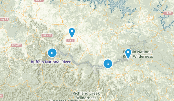 Best Camping Trails In Buffalo National River Photos - Buffalo us map