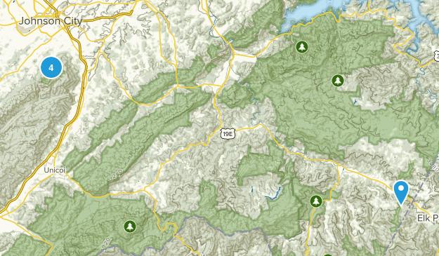 Buffalo Mountain Park Forest Map