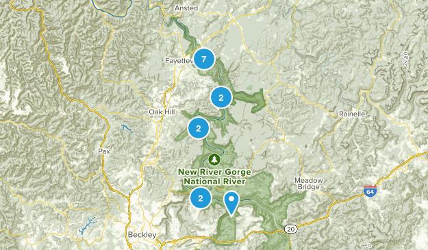 New River Gorge National River Birding Map