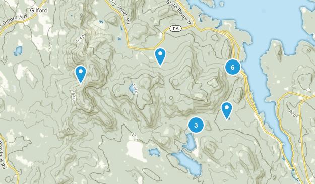 Mount Major State Park Bird Watching Map