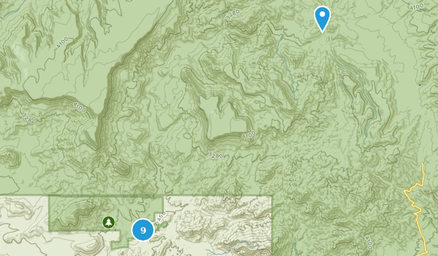 Spur Cross Ranch Conservation Area Hiking Map