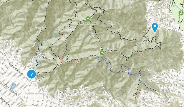 Brand Park Hiking Map