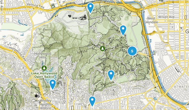 Griffith Park Wildlife Map