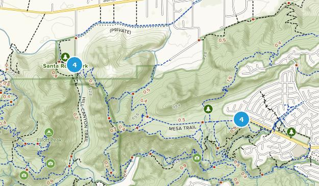 Parc régional de Wildwood Bird Watching Map