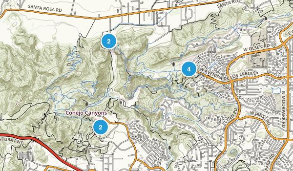 Wildwood Regional Park Views Map